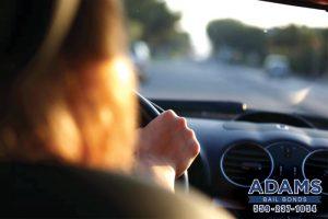 Adams Bail Bonds driving laws
